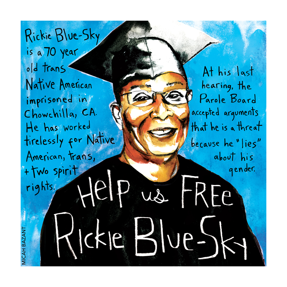 Rickie Blue-Sky Native-American