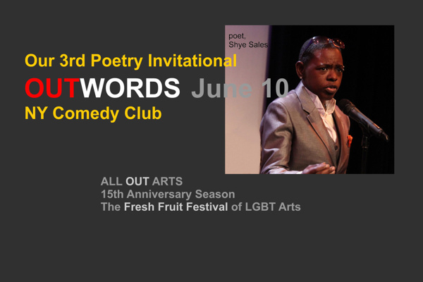 OUTWORDS – Poetry  Invitational